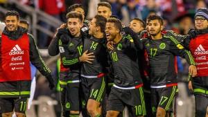 Mexikaner in der Mauer