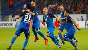 Hoffenheim rettet die Ehre der Bundesliga