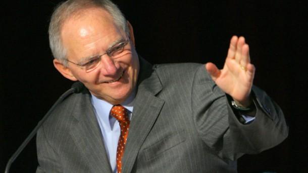 Schäuble droht mit  Kürzung der Sportförderung
