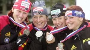 Staffel-Silber für Skijägerinnen