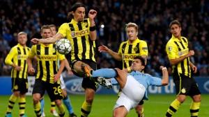 Dortmunder Gala nicht belohnt