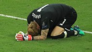 Am Boden zerstört: Liverpool-Torwart Loris Karius.