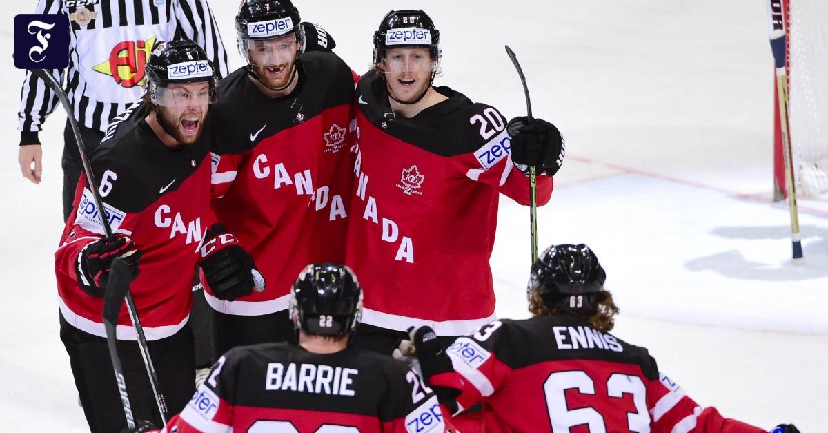 Eishockey Russland Gegen Kanada