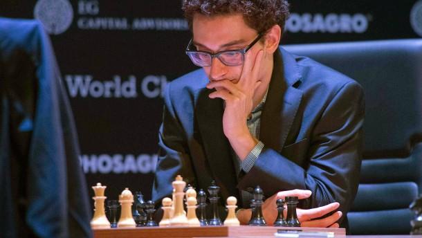 Amerikaner Caruana überrascht