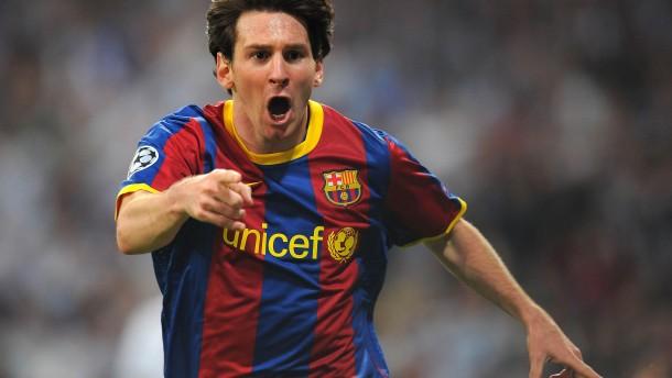 Messi bestraft Madrider Anti-Fußball