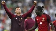 Ronaldo weint, Eder trifft