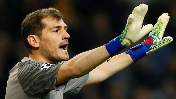 "Torwart-Legende Casillas: ""Hier ist alles gut"""