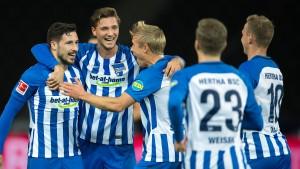 Süßes Jubiläum bei Hertha