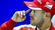 Schon im nächsten Jahr könnte Sebastian Vettel im Ferrari viel mehr Erfolg haben.