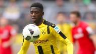 Dortmunder Mitspieler greifen Dembélé an