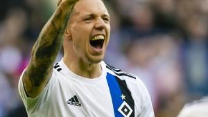 Torfestival des HSV im Topspiel gegen Stuttgart