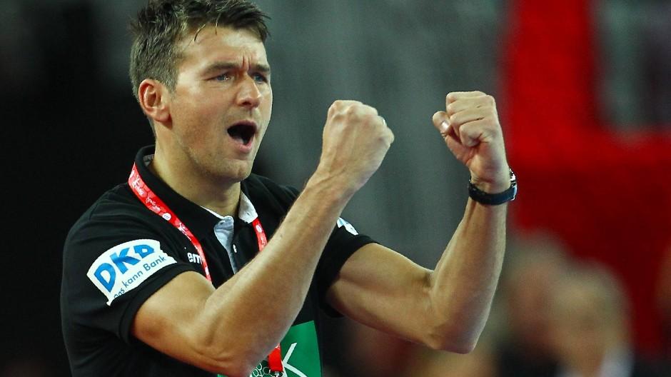 Zufriedener Beobachter: Bundestrainer Prokop