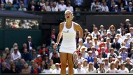 Genießt jeden Moment: Angelique Kerber in Wimbledon.