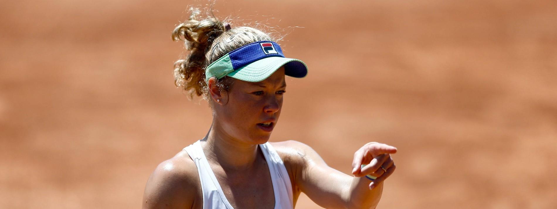 Deutsche Tennis-Damen ohne Mühe