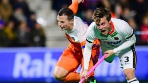 Deutsche Hockey-Männer schlagen Holland
