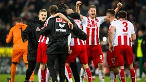 Kölner Siegtreffer in letzter Sekunde