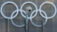 Wie schon in London 2012 auf diesem Bild werden auch in Tokio 2020 bei den Olympischen Spielen Überwachungskameras sehr präsent sein.