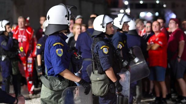 Verletzte nach Hooligan-Randale in Piräus