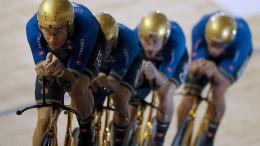 Goldene Räder gestohlen