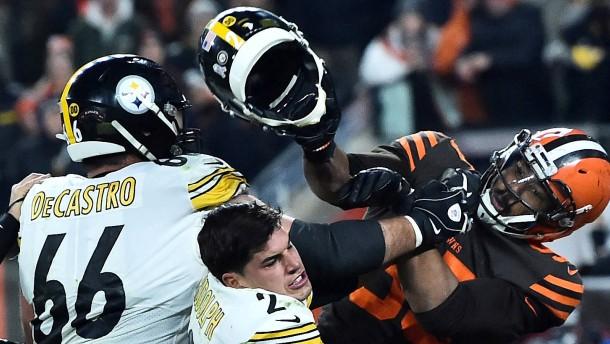 Garrett begründet Helmschlag mit Rassismus