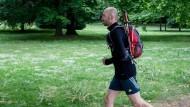 Immer im Training: Nils Thies läuft und läuft und läuft.