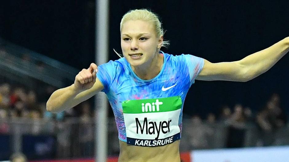 In Karlsruhe konnte Lisa Mayer 2020 ihr Comeback geben, wo sie 2018 auch ihr letztes Rennen absolvierte.