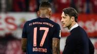 Lob vom Trainer: Jérôme Boateng (links) neben Niko Kovac