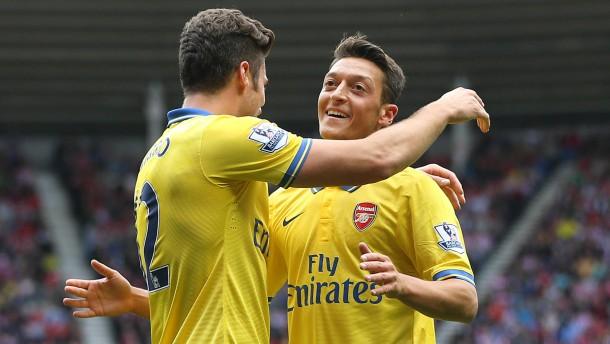Siege für ManUnited und Arsenal