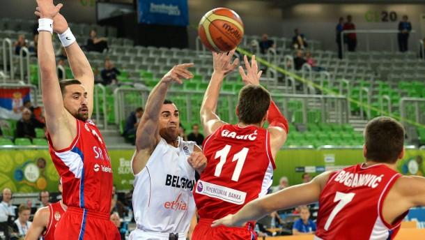 Serbien vor Viertelfinale - Frankreich verliert