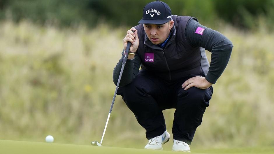 Golfspieler Marcus Armitage gewann die European Open in Winsen an der Luhe.