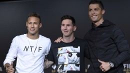 Ronaldo, Messi oder Neymar