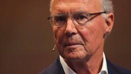 Ärger um Abtrennung von Beckenbauer-Verfahren