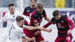 Die Lage für den 1. FC Nürnberg spitzt sich zu