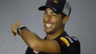 Durchaus selbstbewusst: Formel-1-Pilot Daniel Ricciardo