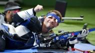 Darf sich freuen: Henri Junghänel gewinnt Gold