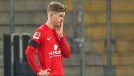 Abstiegskampf statt Europacup-Träume: eine resignierte Hertha nach der Niederlage in Bielefeld