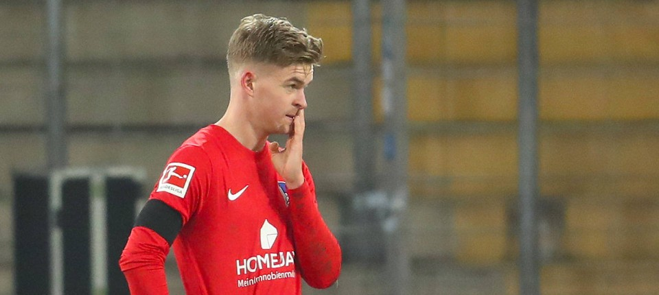 Relegation battle instead of European Cup dreams: a resigned Hertha after the defeat in Bielefeld