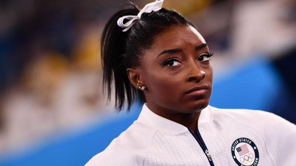 Biles trifft nächste Entscheidung für Olympia