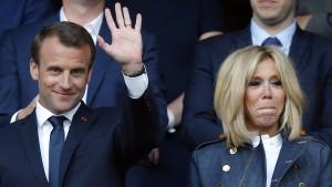 Die große Liebe des Emmanuel Macron