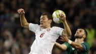 Ein torloses Unentschieden passt: Dänemark will aufsteigen.