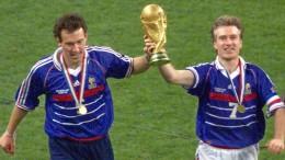 Frankreich holt den Titel wie 1998