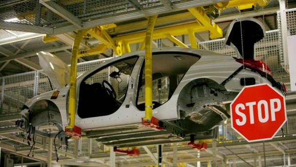 Absatzflaute bei Opel