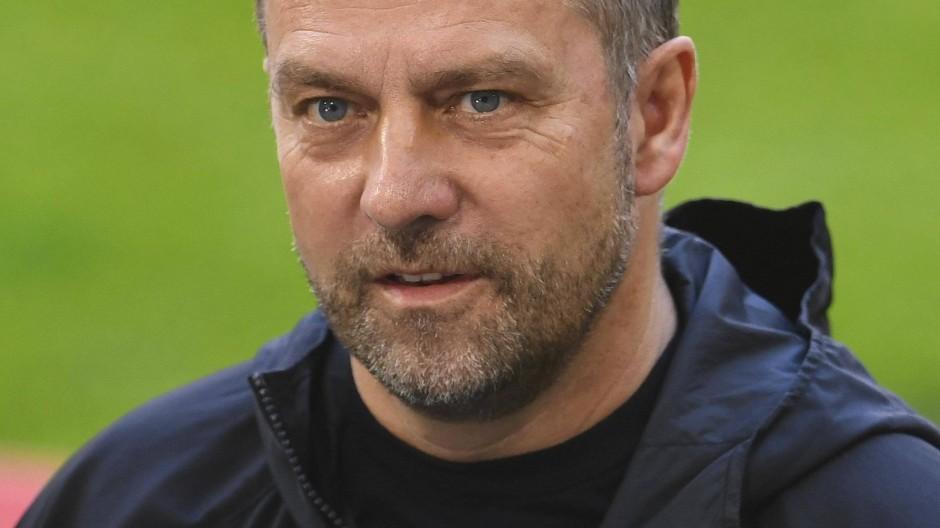 Trainer Hansi Flick möchte den FC Bayern verlassen.