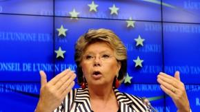 EU-Justizkommissarin Viviane Reding hat die Rückendeckung der Kollegen