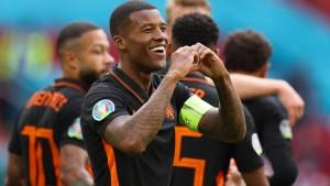 Niederlande wieder nicht zu bremsen
