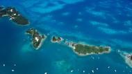 Fast wie im Paradies: Eine Inselgruppe, die zu den Bermudas gehört