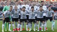 Mit dieser Mannschaft ging das DFB-Team ins Duell mit San Marino.