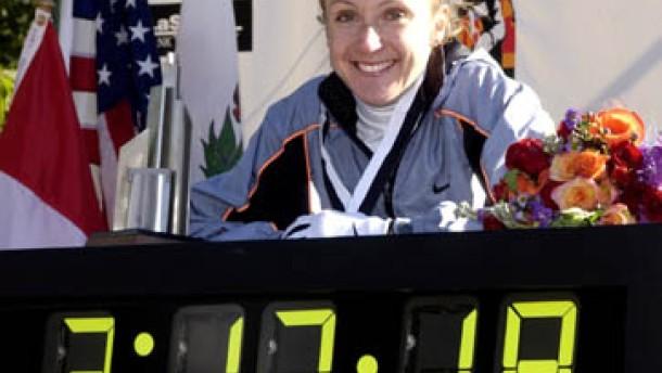 Paula Radcliffe: Historischer Lauf ins Geschichtsbuch