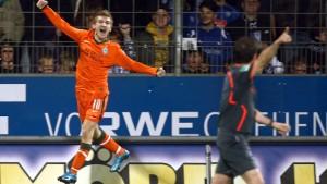 Werder ist der Gewinner des Spieltags