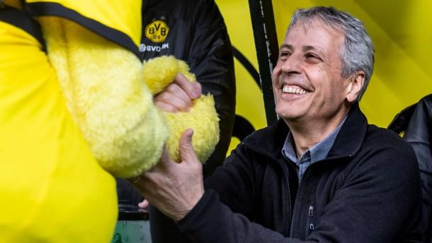 Dortmunder Geburtstagsgeschenk für Favre